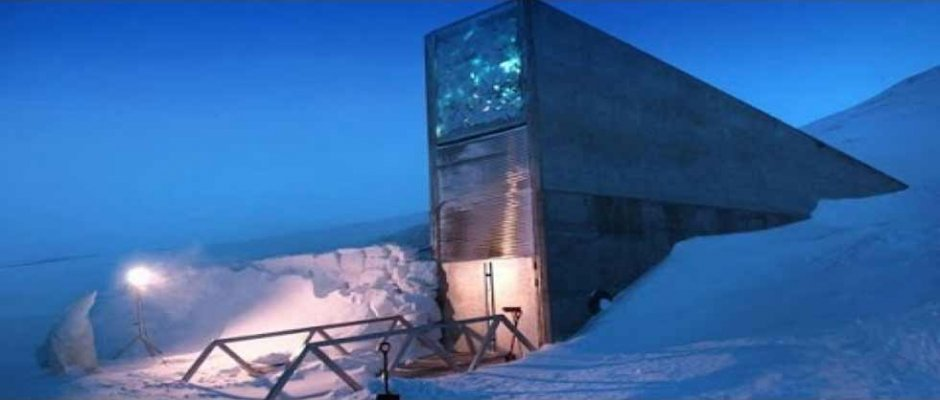 Arca de las semillas (global seed vault )
